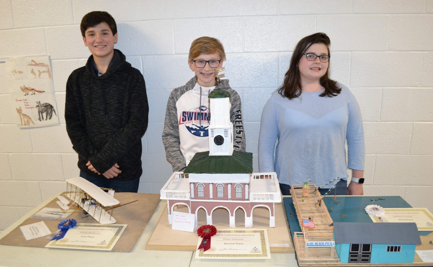 7th Grade NC History Projects Winners