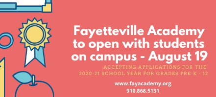 We Are Planning to Open On Campus August 19