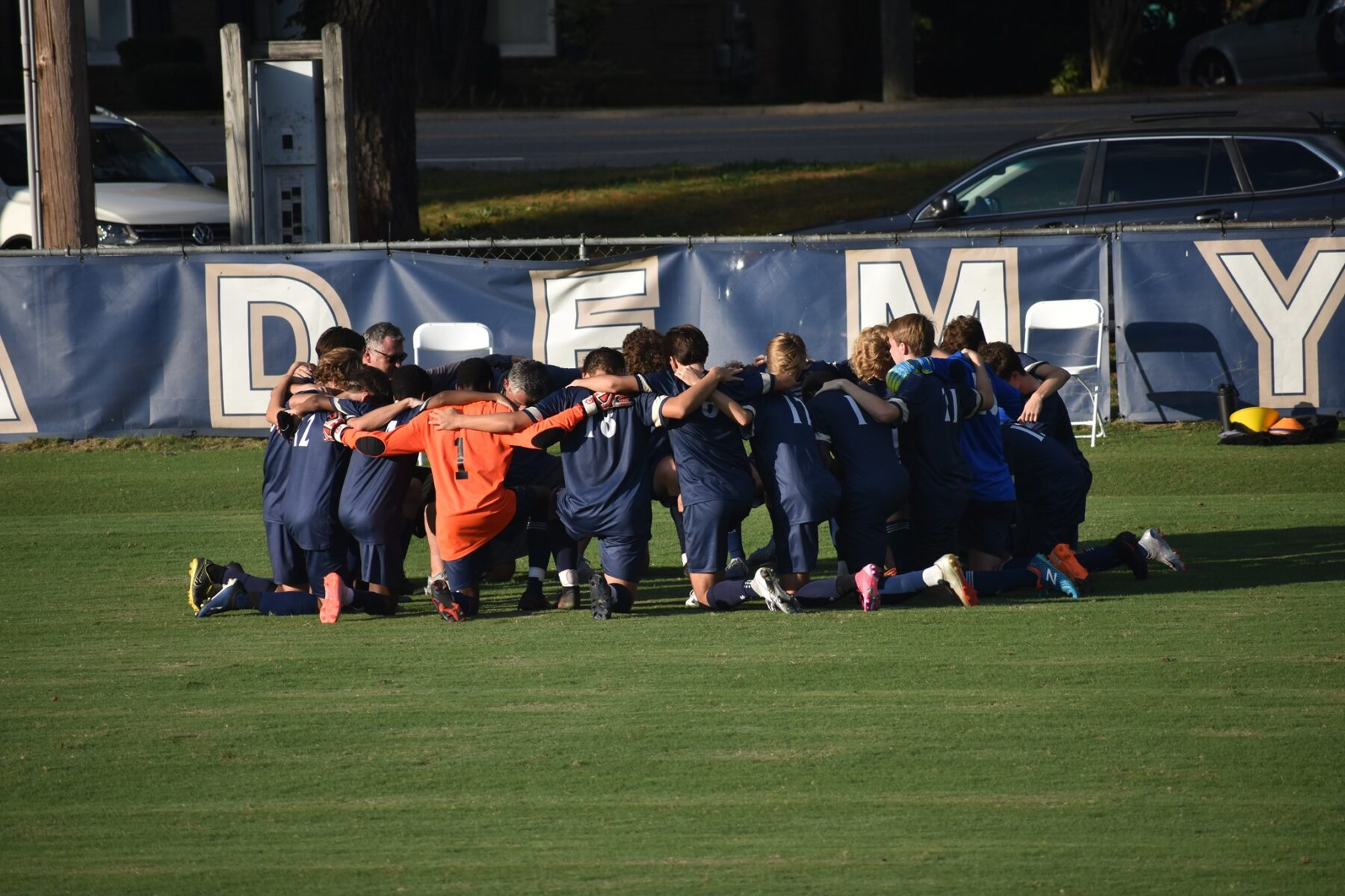 Fayetteville Academy Varsity Boys' Soccer Team Headed to State Championship