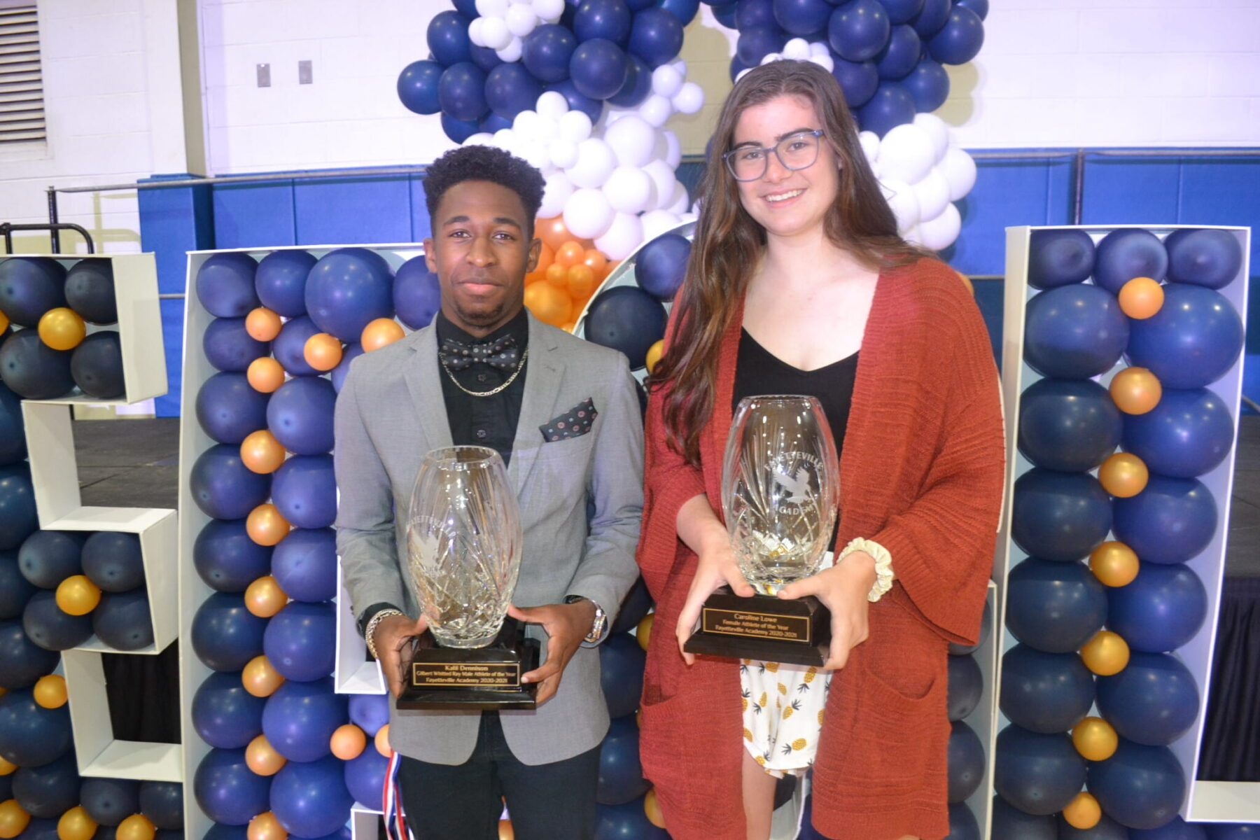 2021 Fayetteville Academy Athletes of the Year