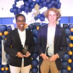2021 Coastal Rivers Conference Scholar Athletes Fayetteville Academy two student athletes