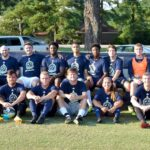 Fayetteville Academy alumni soccer 2019 team game group photo